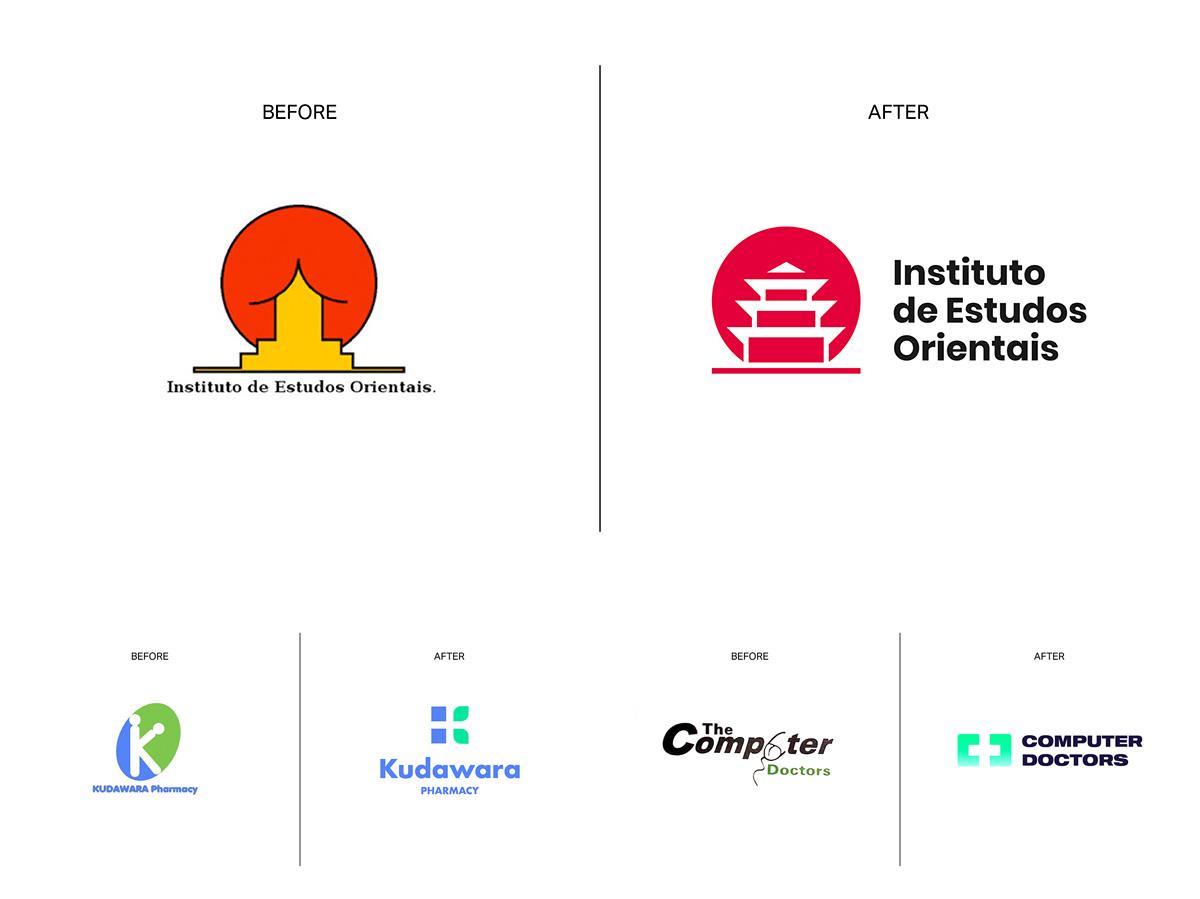 Worst Logos Redesigned