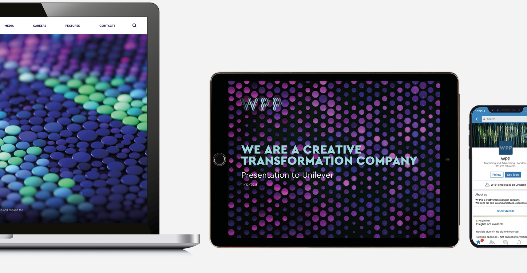 New Logo and Identity for WPP by Landor and Superunion