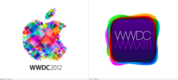 WWDC Logo, Before and After