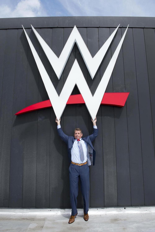 Brand New New Logo For WWE