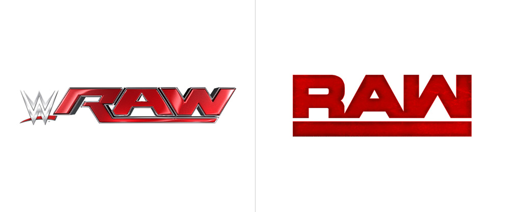 brand new new logos for wwe raw and smackdown live