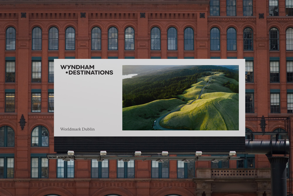 New Logo and Identity for Wyndham Destinations by Siegel+Gale