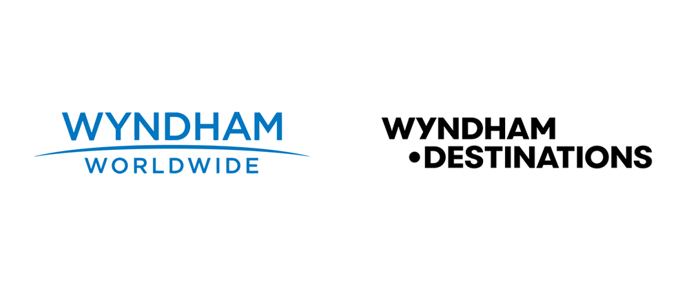 New Logo and Identity for Wyndham Destinations by Siegel+Gale