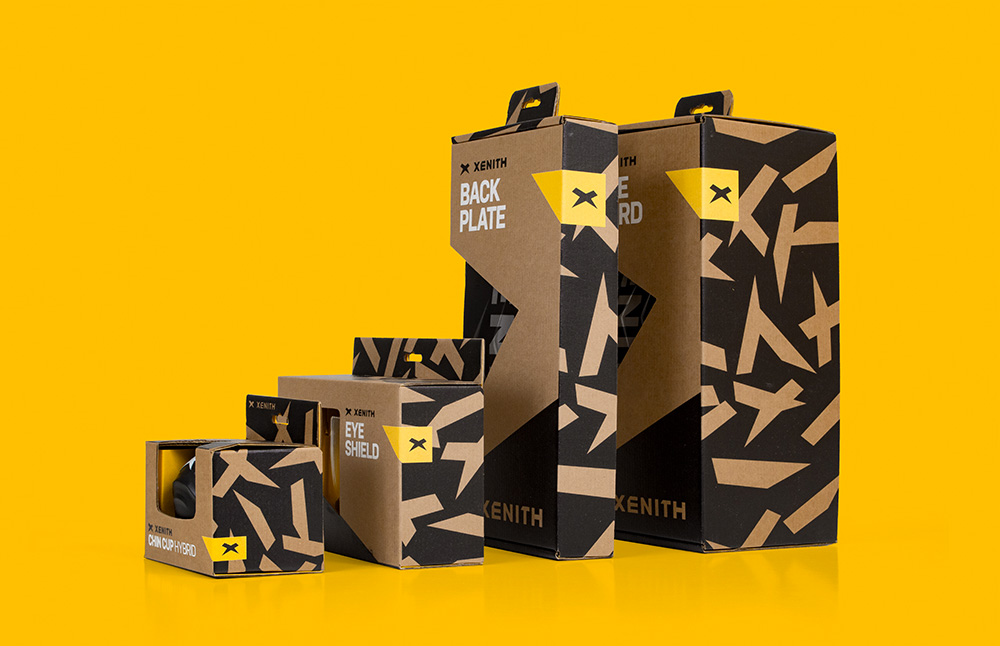 New Logo, Identity, and Packaging for Xenith by Skidmore Studio