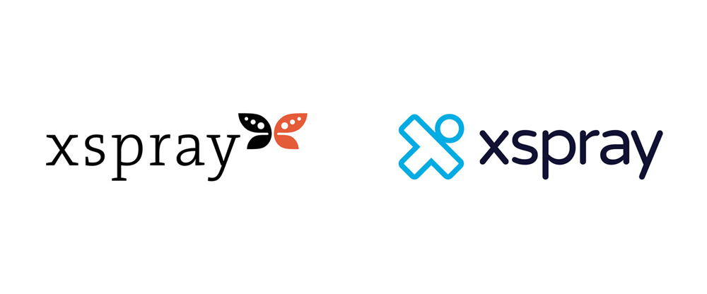 New Logo and Identity for Xspray by Phosworks