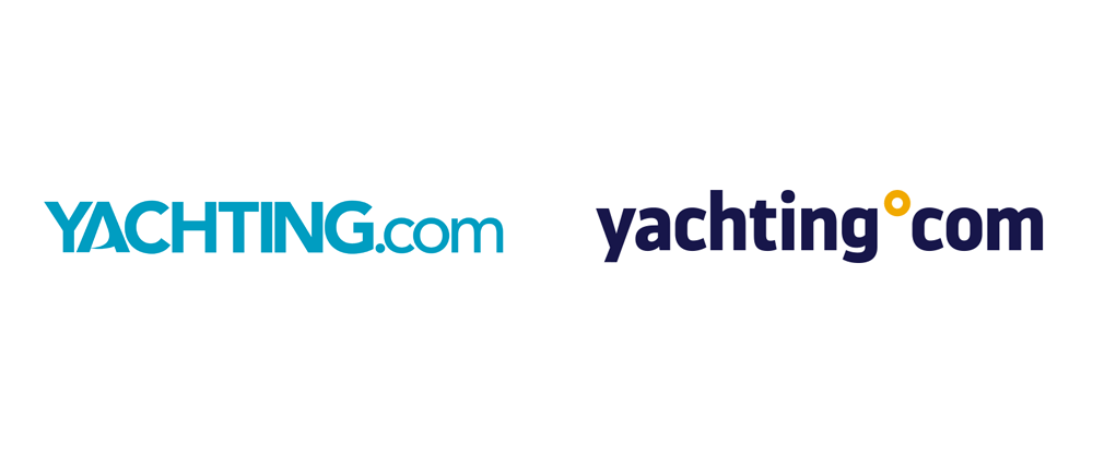 New Logo and Identity for yachting°com by Hybrid Studio