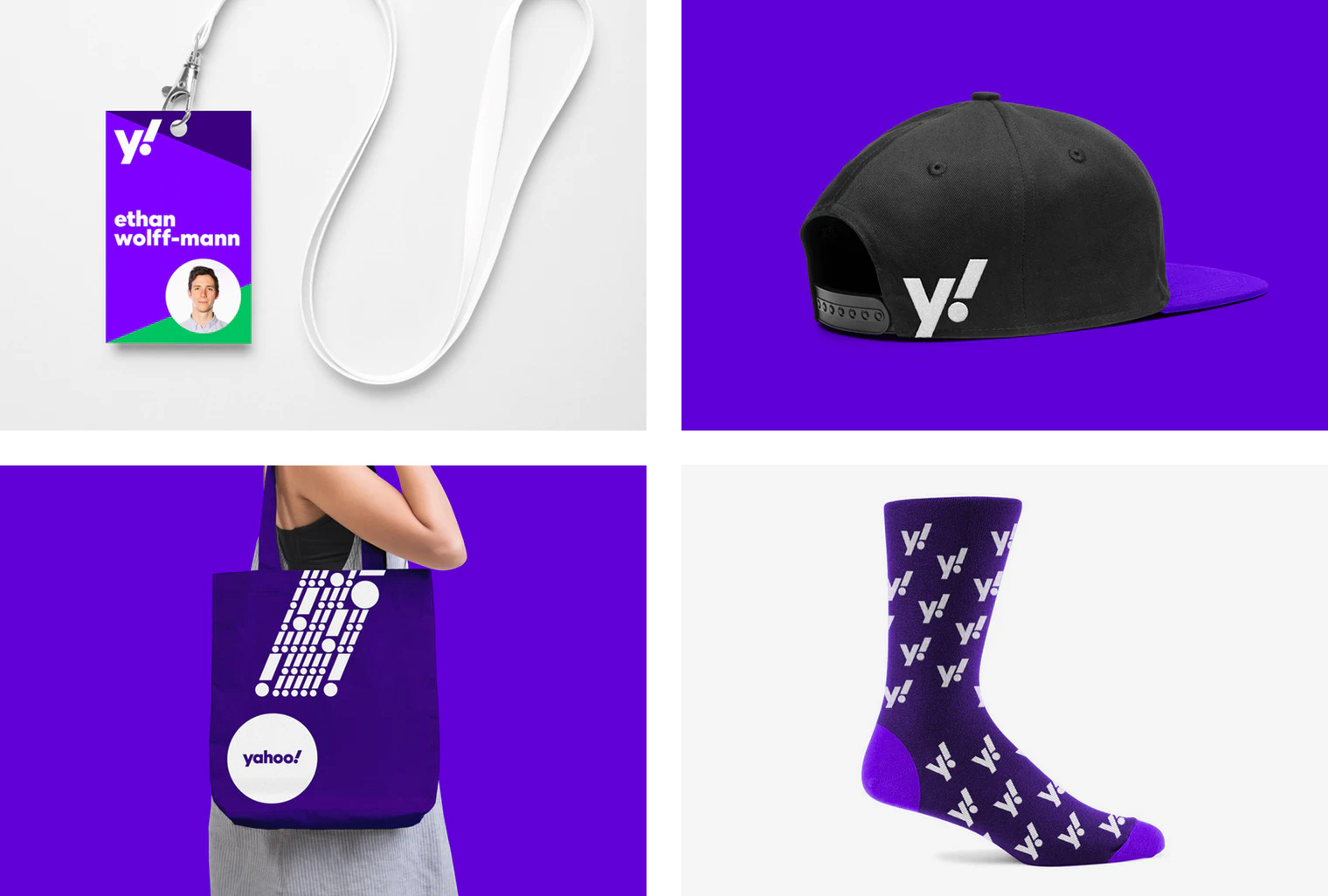 New Logo and Identity for Yahoo! by Pentagram