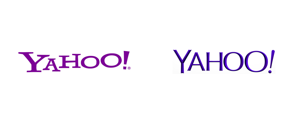 Brand new new logo for yahoo designed in house 30 days for this malvernweather Choice Image
