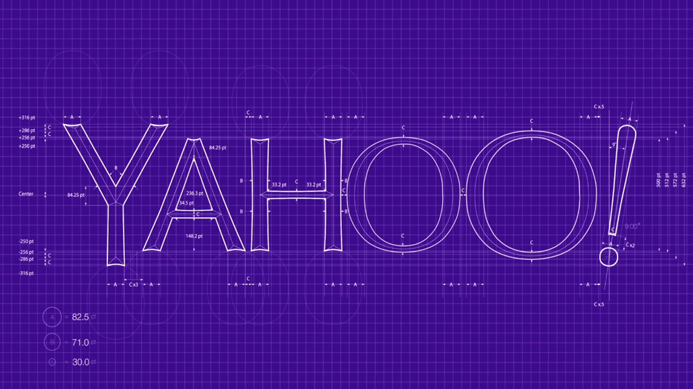 New Logo for Yahoo Designed In-House