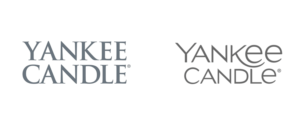 brand new  new logo for yankee candle