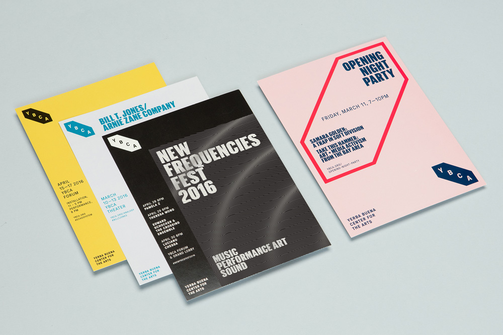 New Logo and Identity for Yerba Buena Center for the Arts by Manual