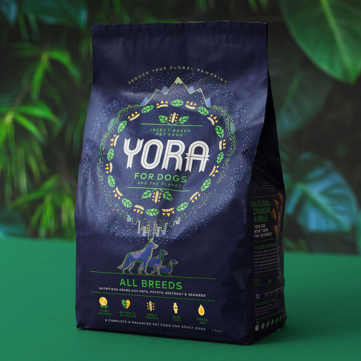 New Logo and Packaging for Yora by Junction Studio