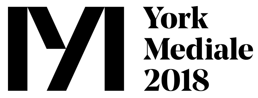New Logo and Motion Graphics for York Mediale by Something More and Hungry Sandwich Club