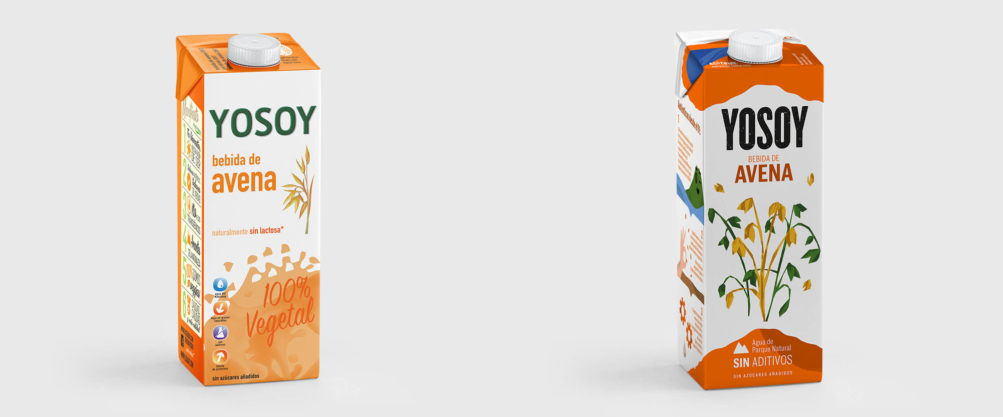 New Logo and Packaging for Yosoy by Mucho