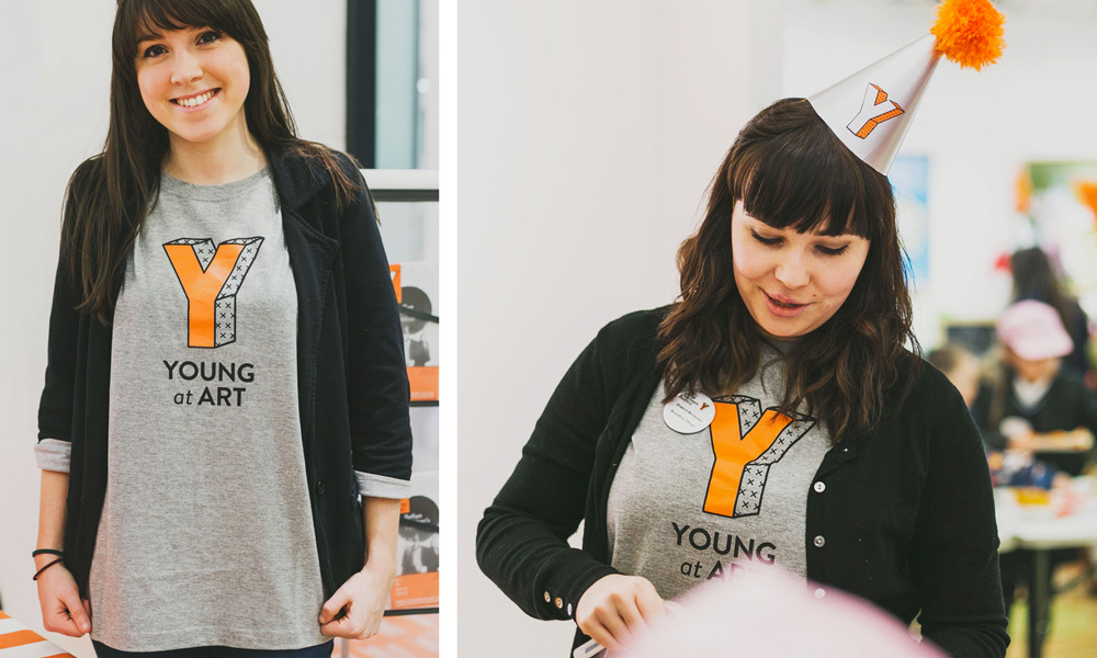 New Logo and Identity for Young at Art by Paperjam