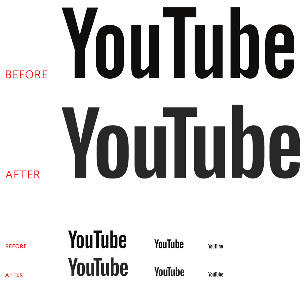 New Logo for YouTube done In-house