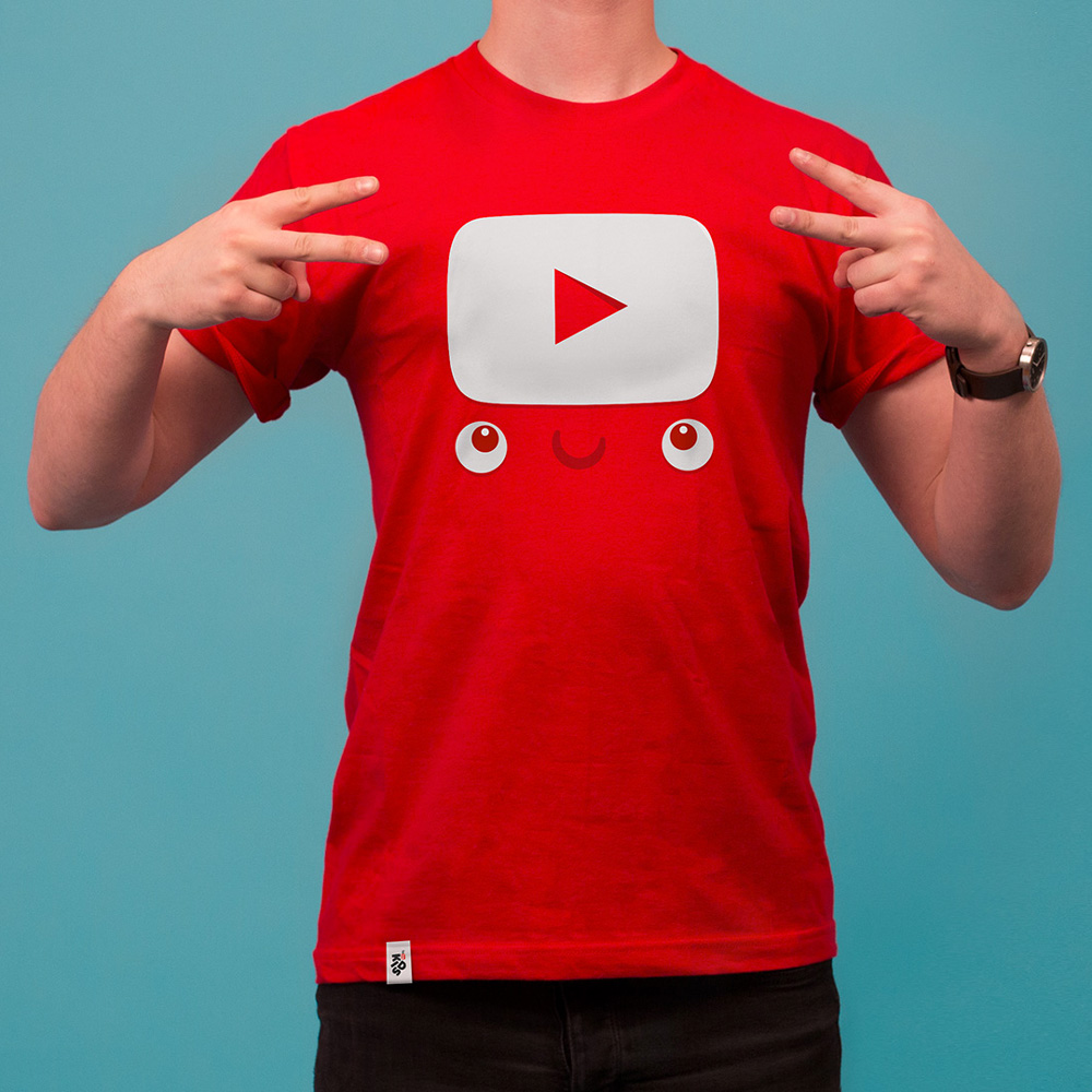 T shirt design youtube - New Logo And Identity For Youtube Kids By Hello Monday T Shirt