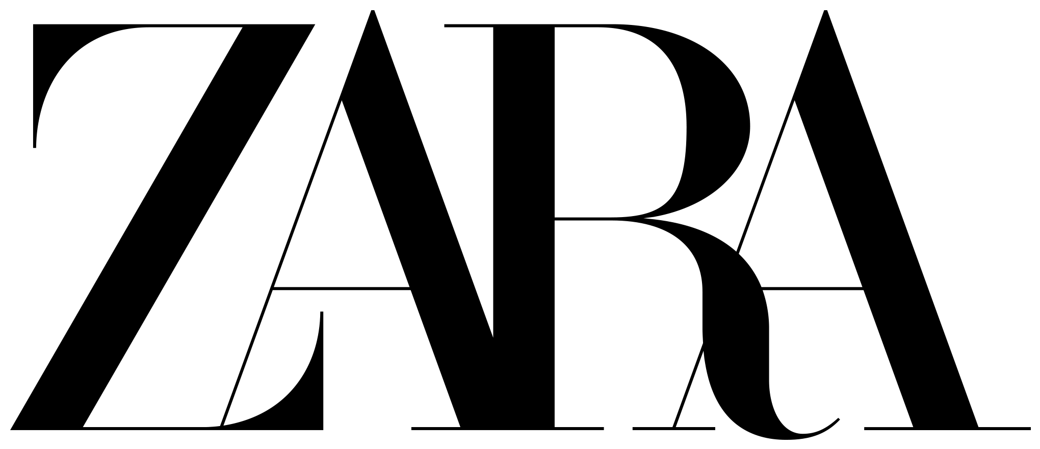 New Logo for Zara by Baron & Baron