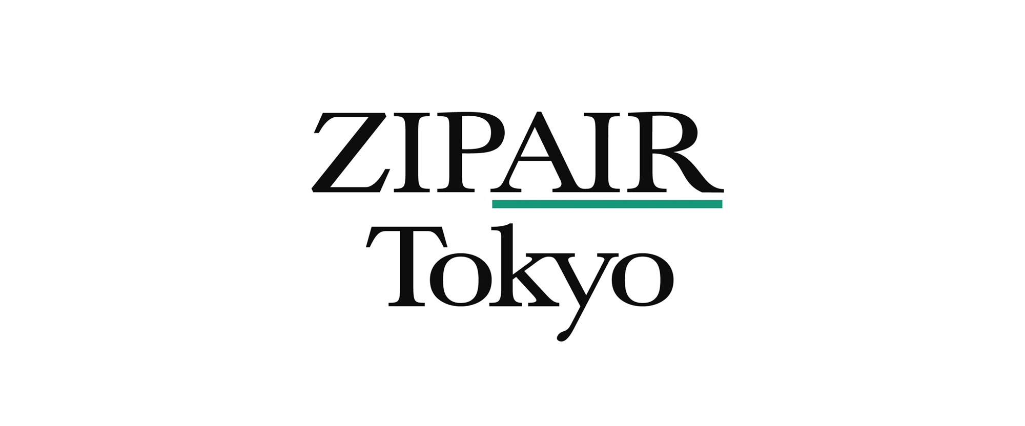 New Logo for ZIPAIR Tokyo by Six Inc.