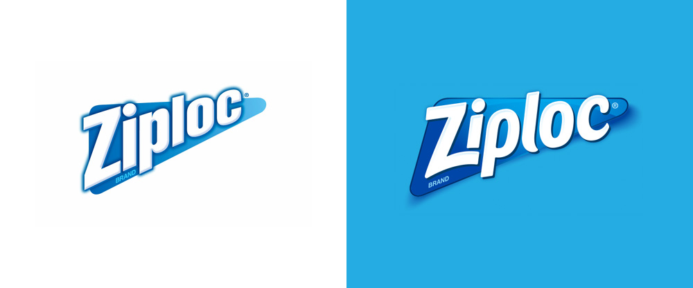 New Logo for Ziploc