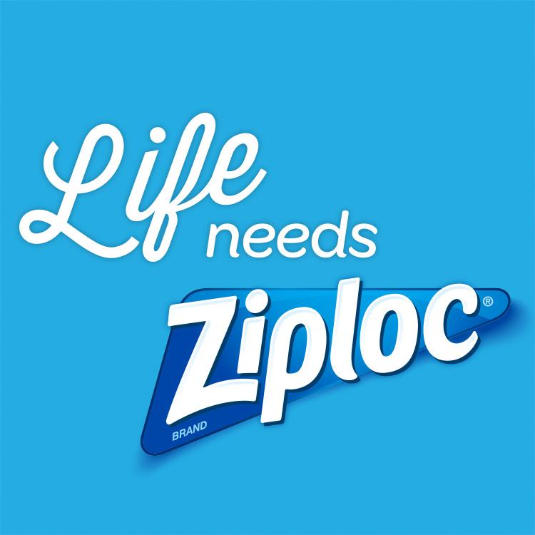 New Logo for Ziploc