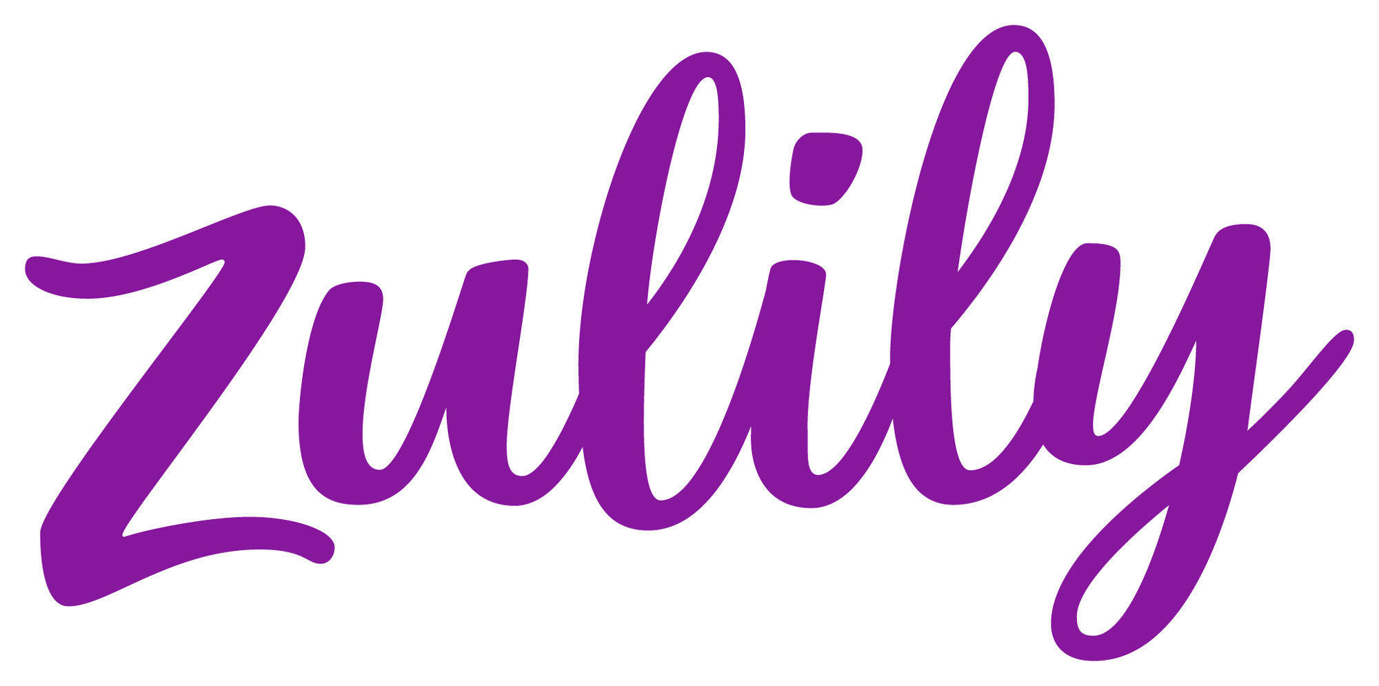 New Logo for Zulily done In-house