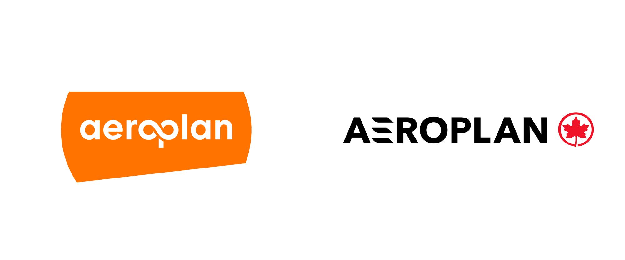 New Logo for Aeroplan