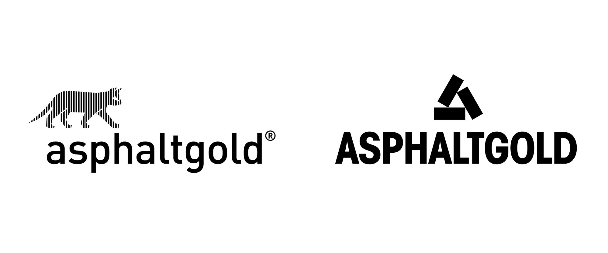 New Logo and Identity for Asphaltgold by Arndt Benedikt