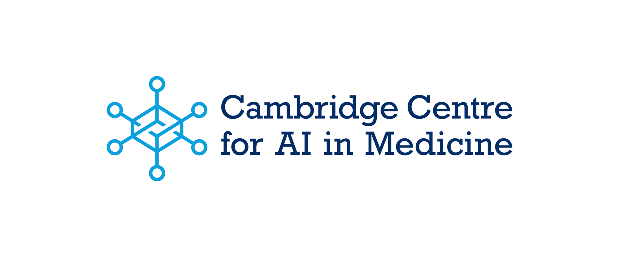 New Logo and Identity for Cambridge Centre for AI in Medicine by Ian Paget