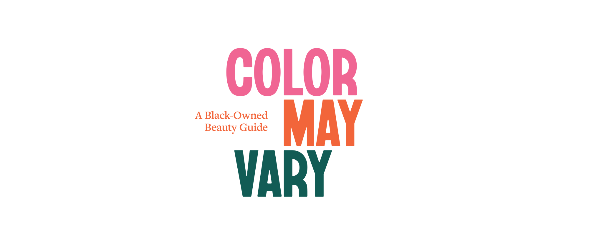 New Logo and Identity for Color May Vary by Ben Loiz Studio