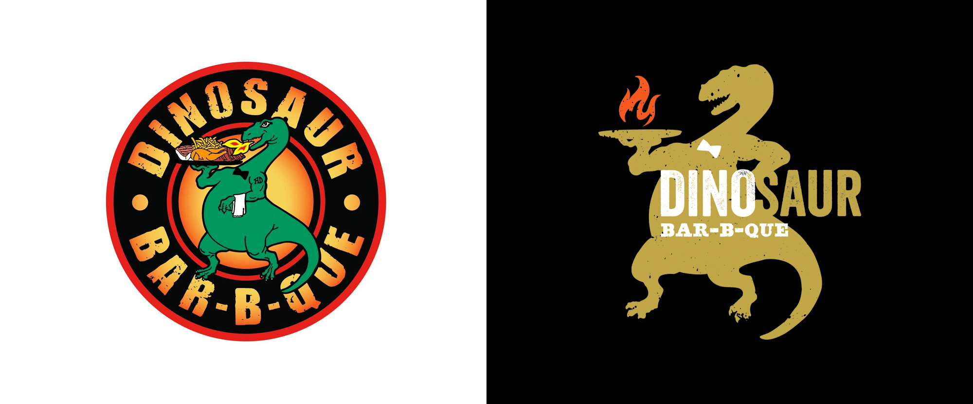 New Logo for Dionsaur Bar-B-Que by CINSYR