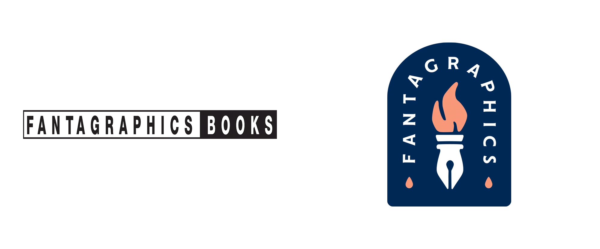 New Logo for Fantagraphics Done In-house