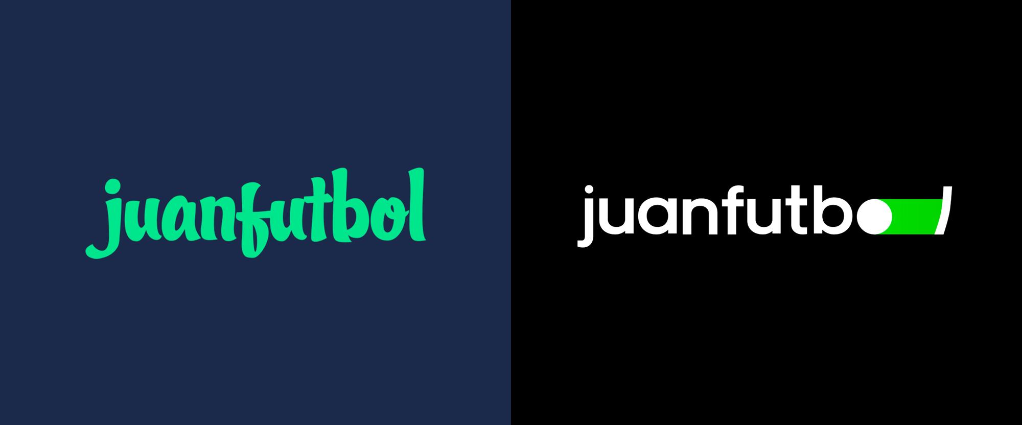 New Logo for juanfutbol done In-house