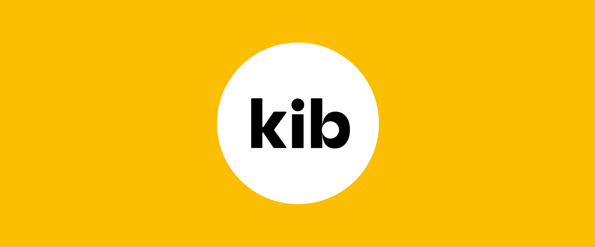 New Logo and Packaging for Kib by & SMITH