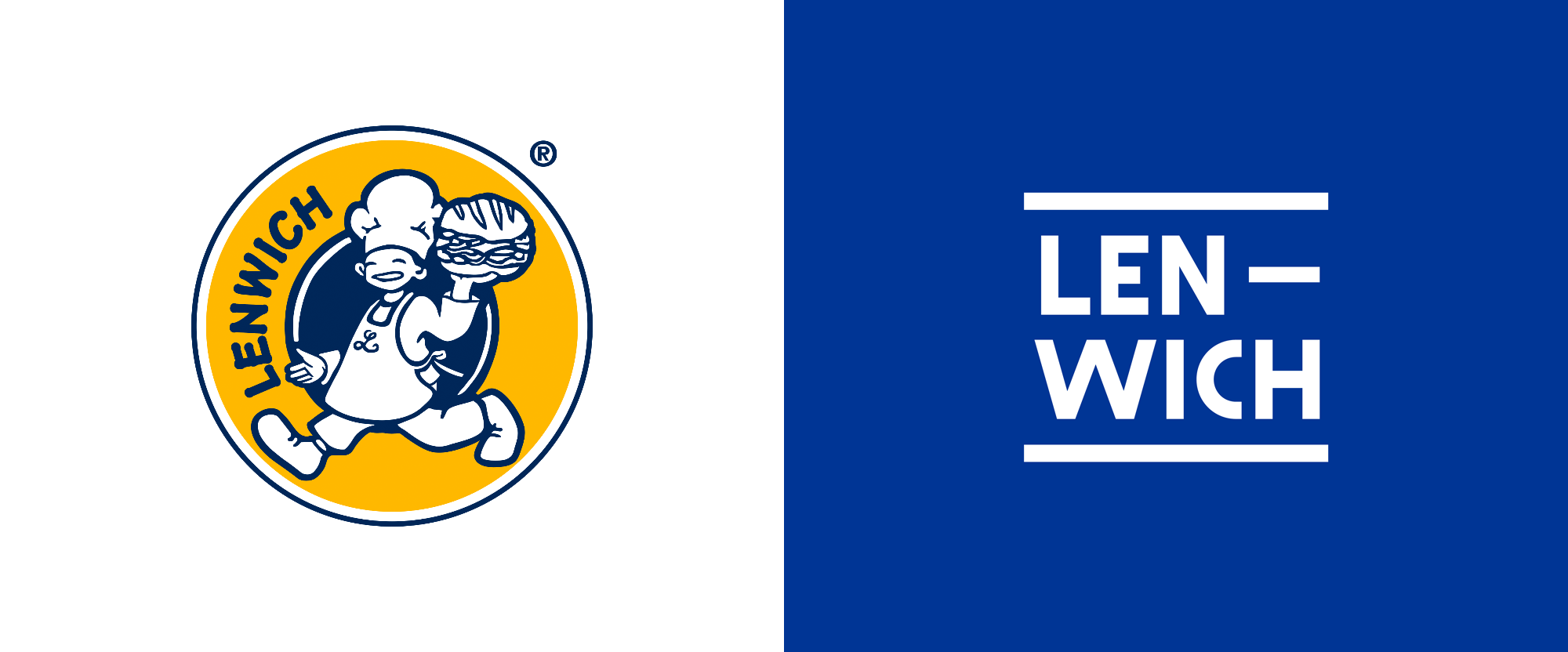 New Logo and Identity for Lenwich by Mucca