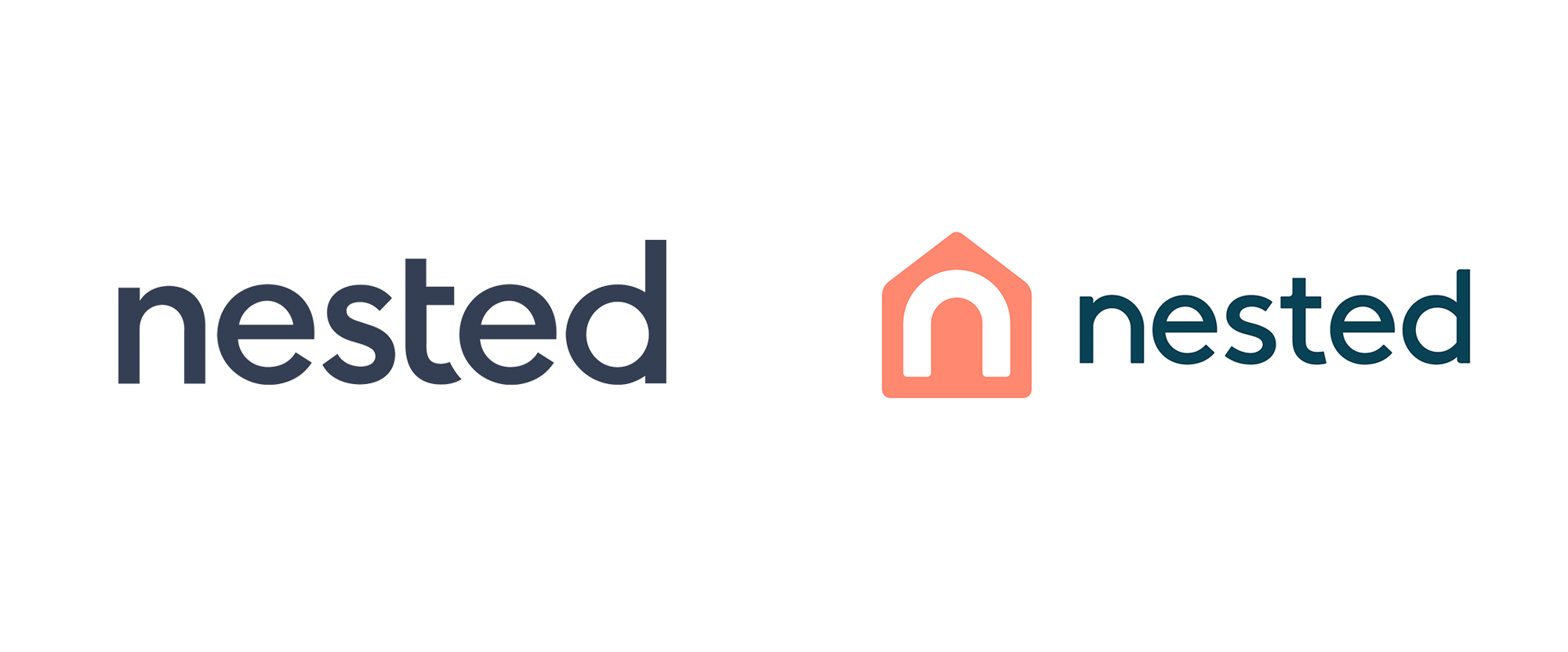 New Logo and Identity for Nested by Point