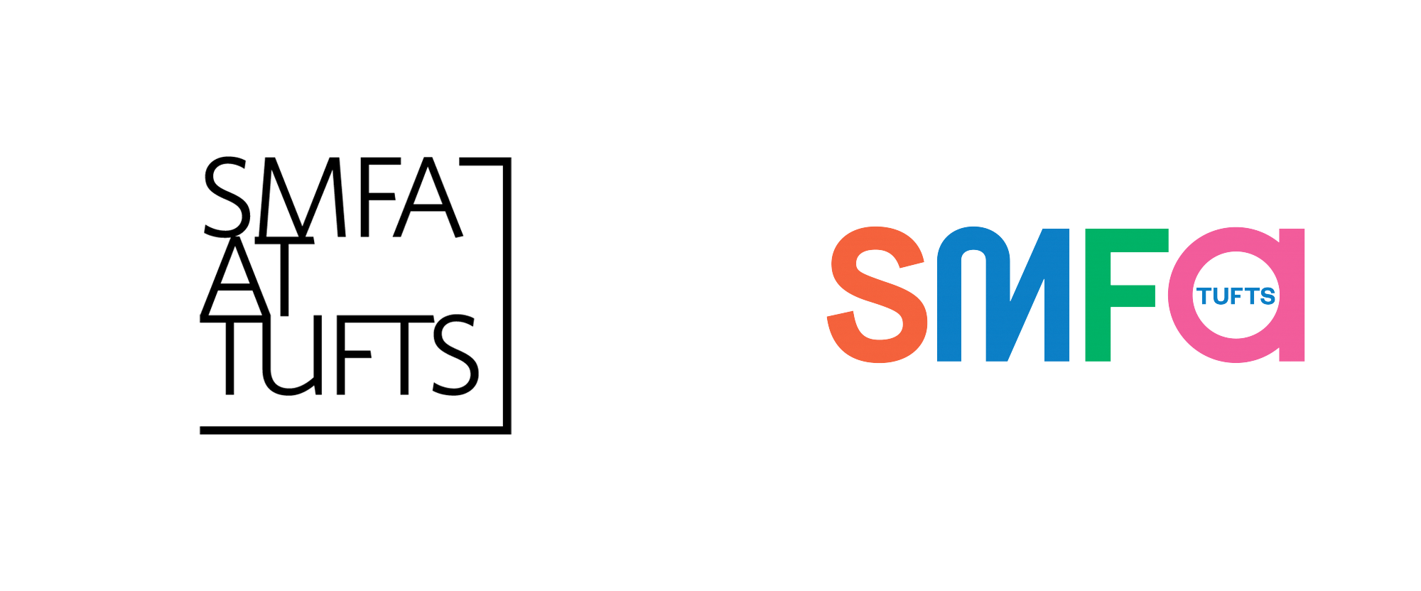 New Logo for SMFA at Tufts