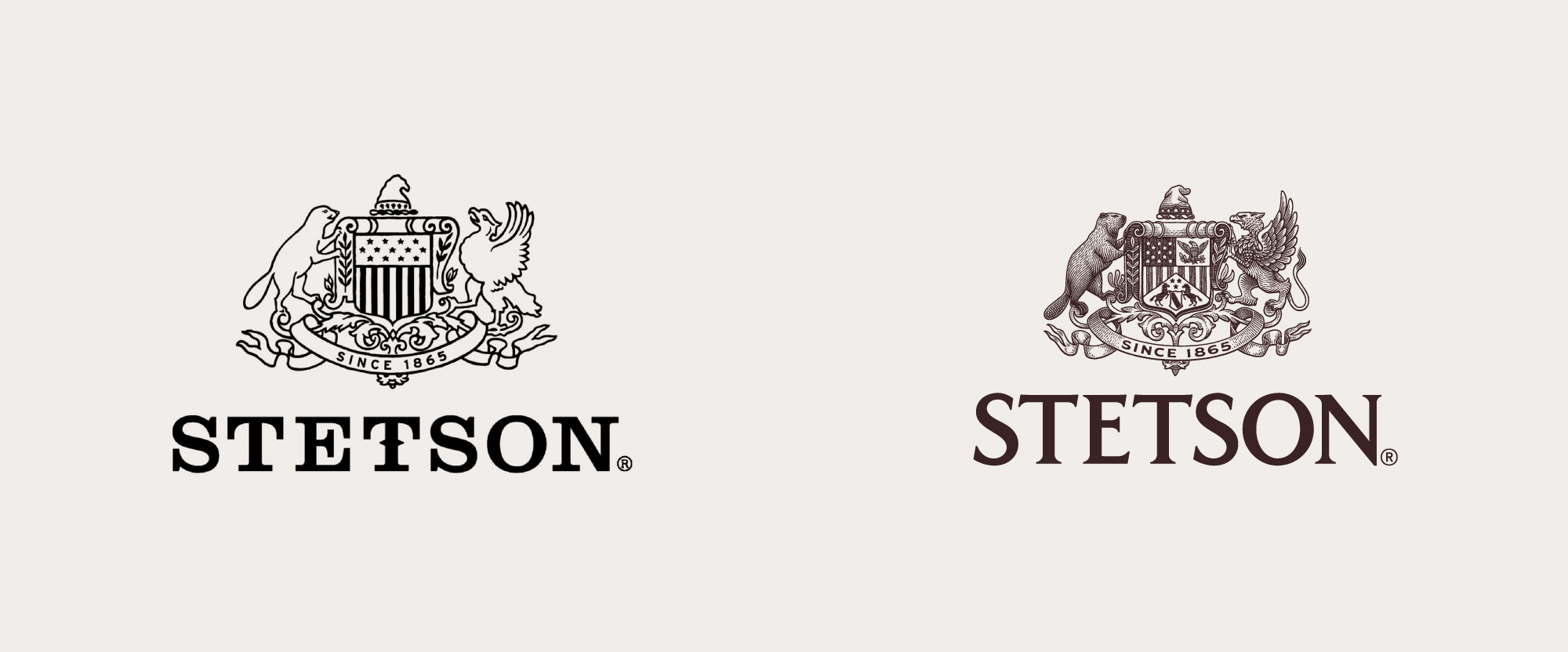 New Logo and Identity for Stetson by Tractorbeam