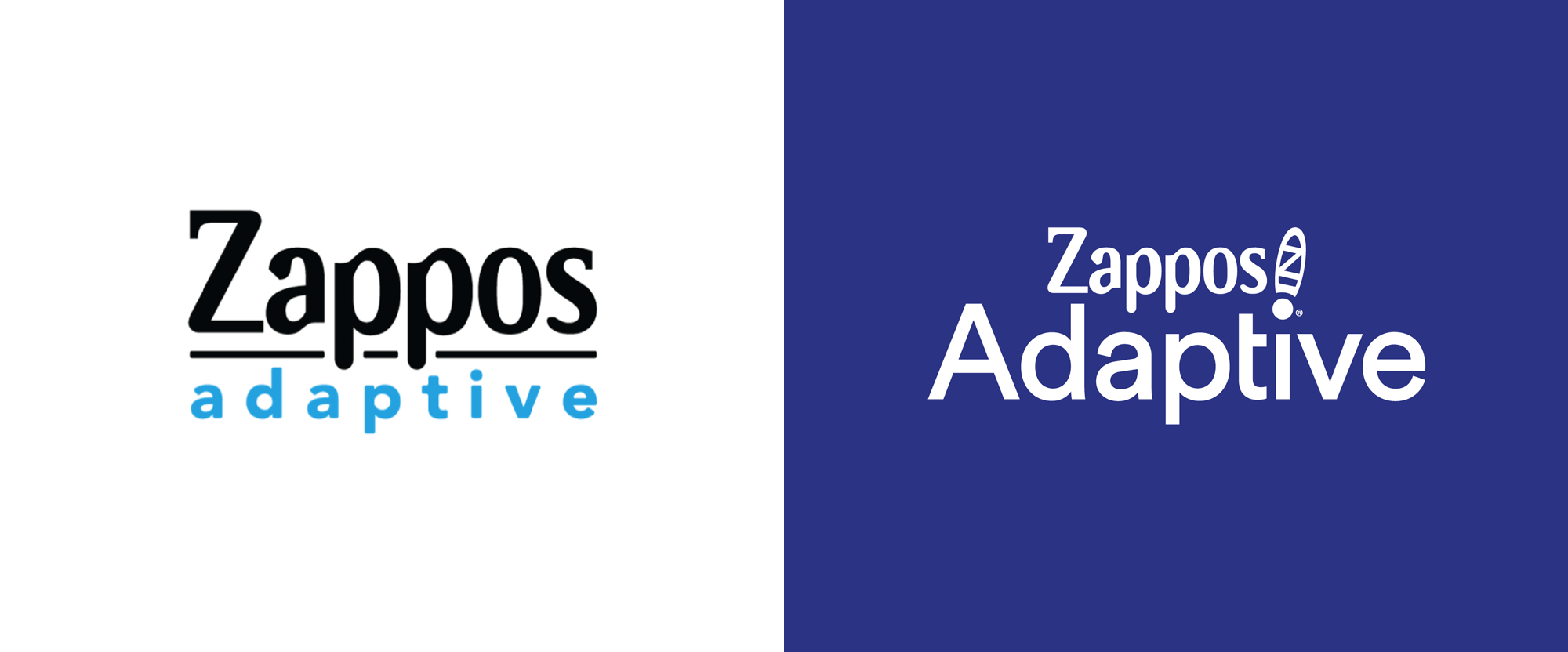 New Logo and Identity for Zappos Adaptive by Eric&Todd