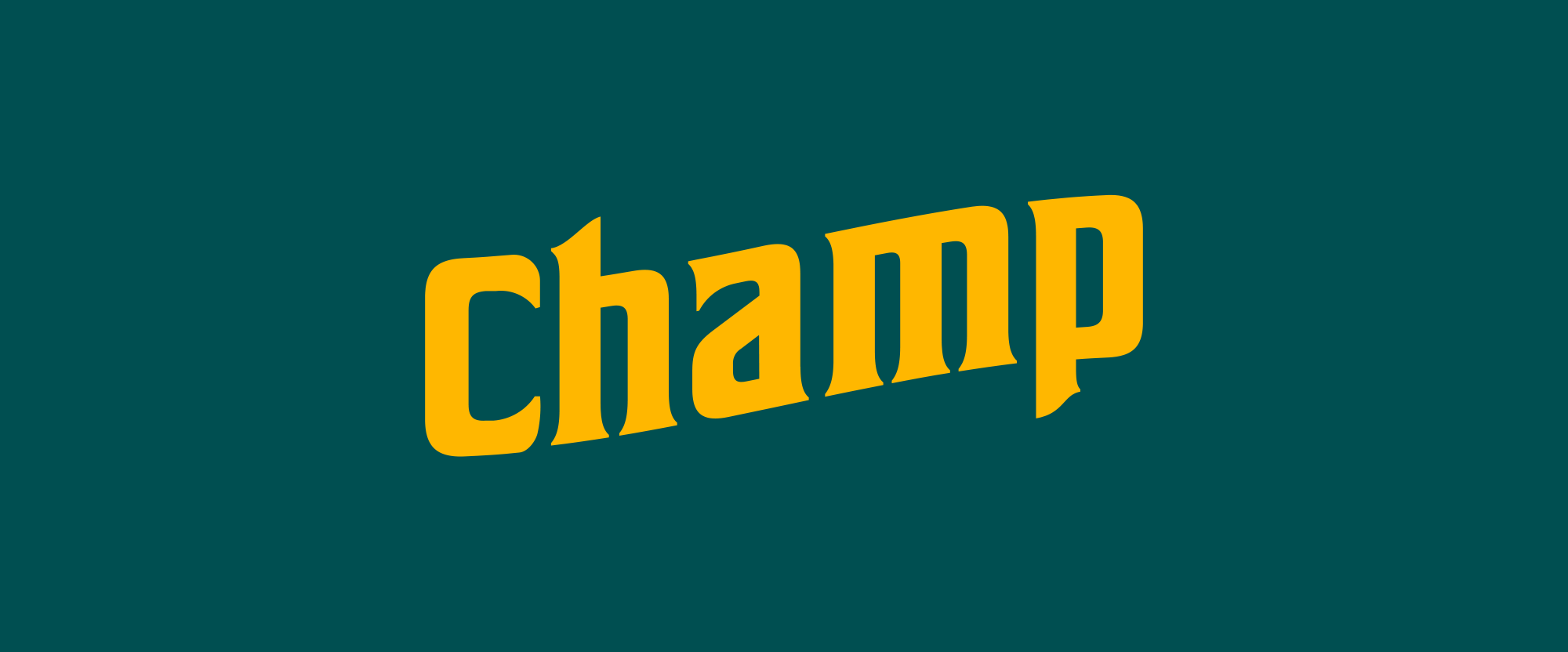 New Logo and Packaging for Champ by Madwell