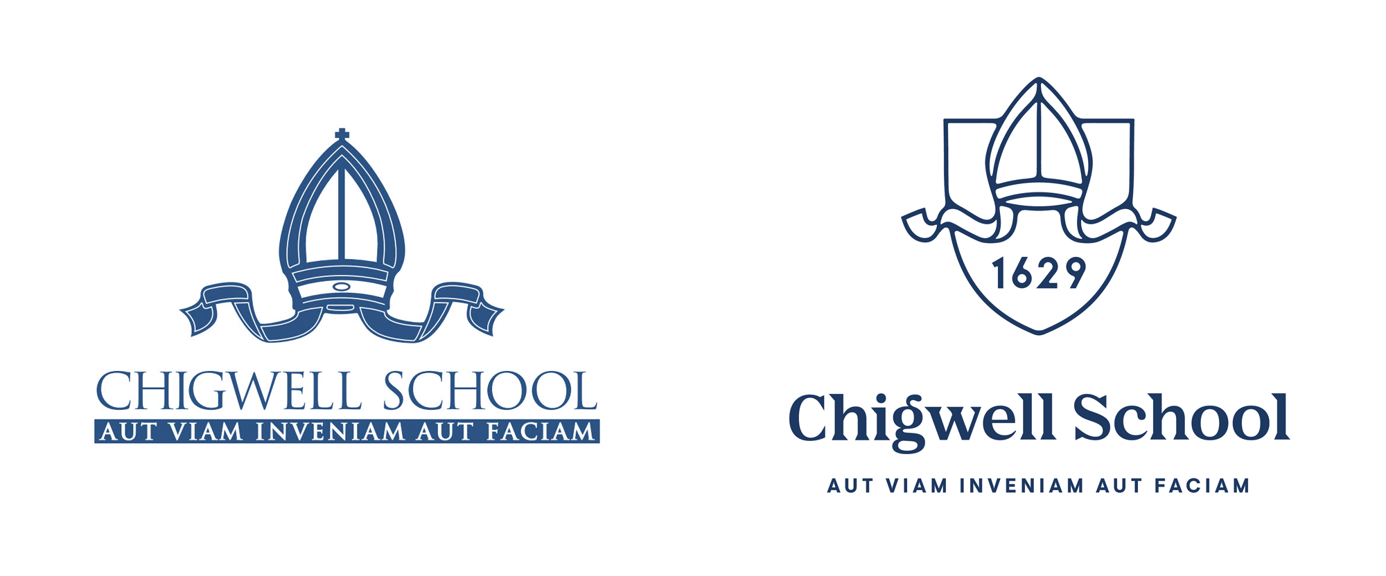 New Logo and Identity for Chigwell School by Nalla