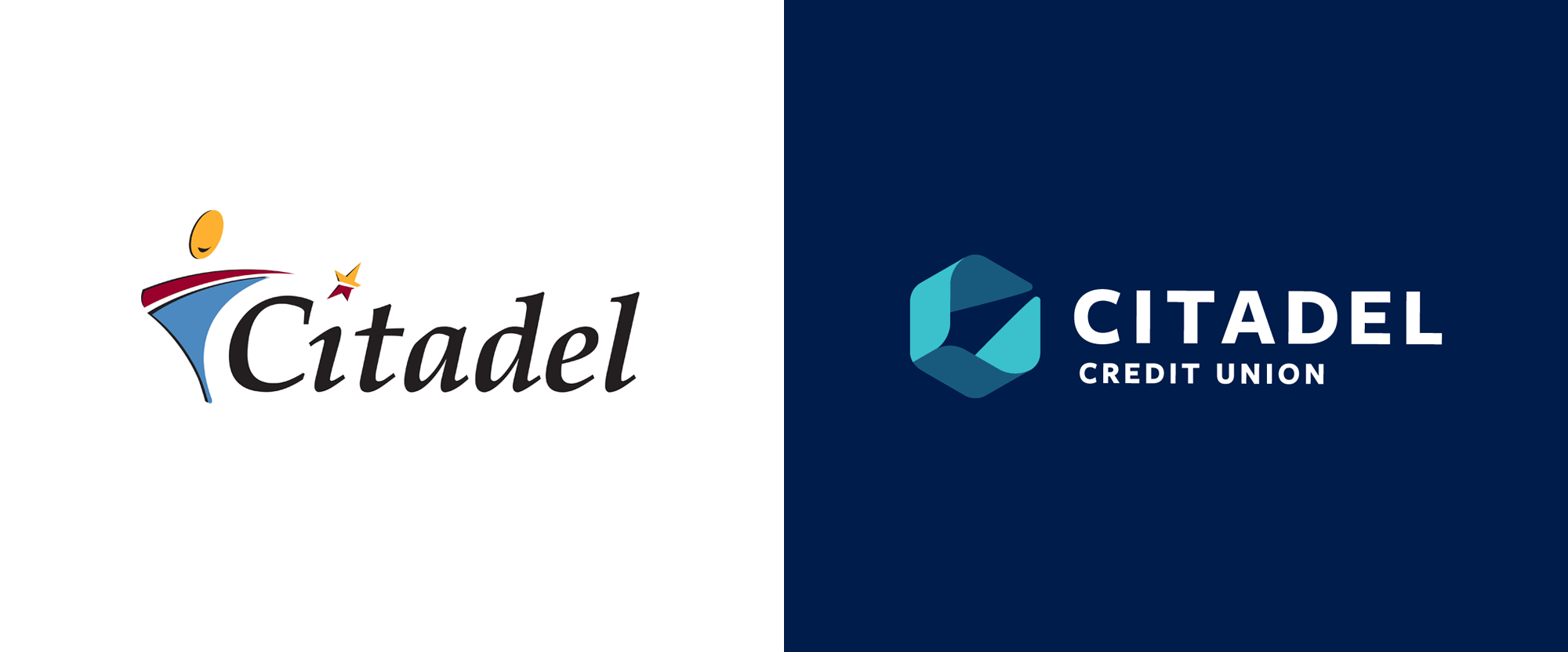 New Logo for Citadel Credit Union by Adrenaline and In-house