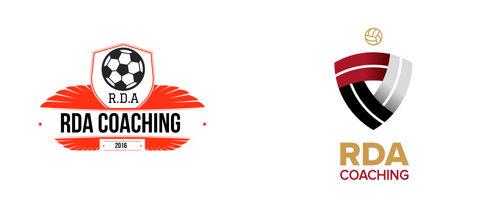 New Logo and Identity for RDA Coaching by Kieran Harrod