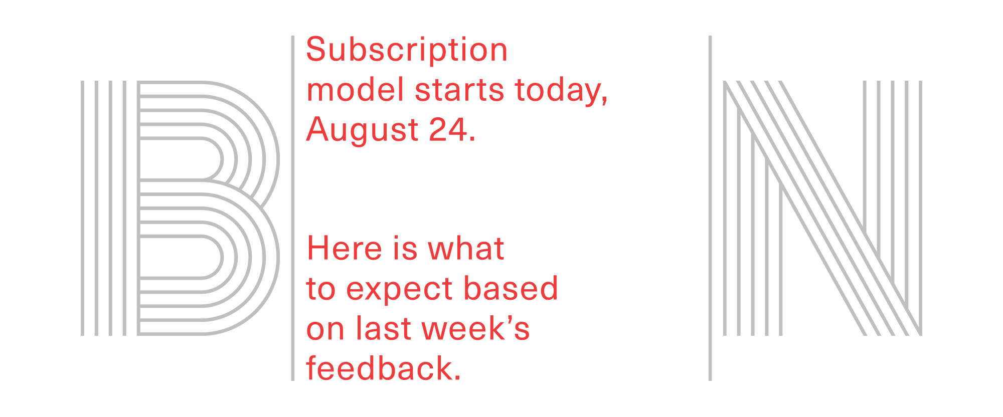 Subscription Model Updates