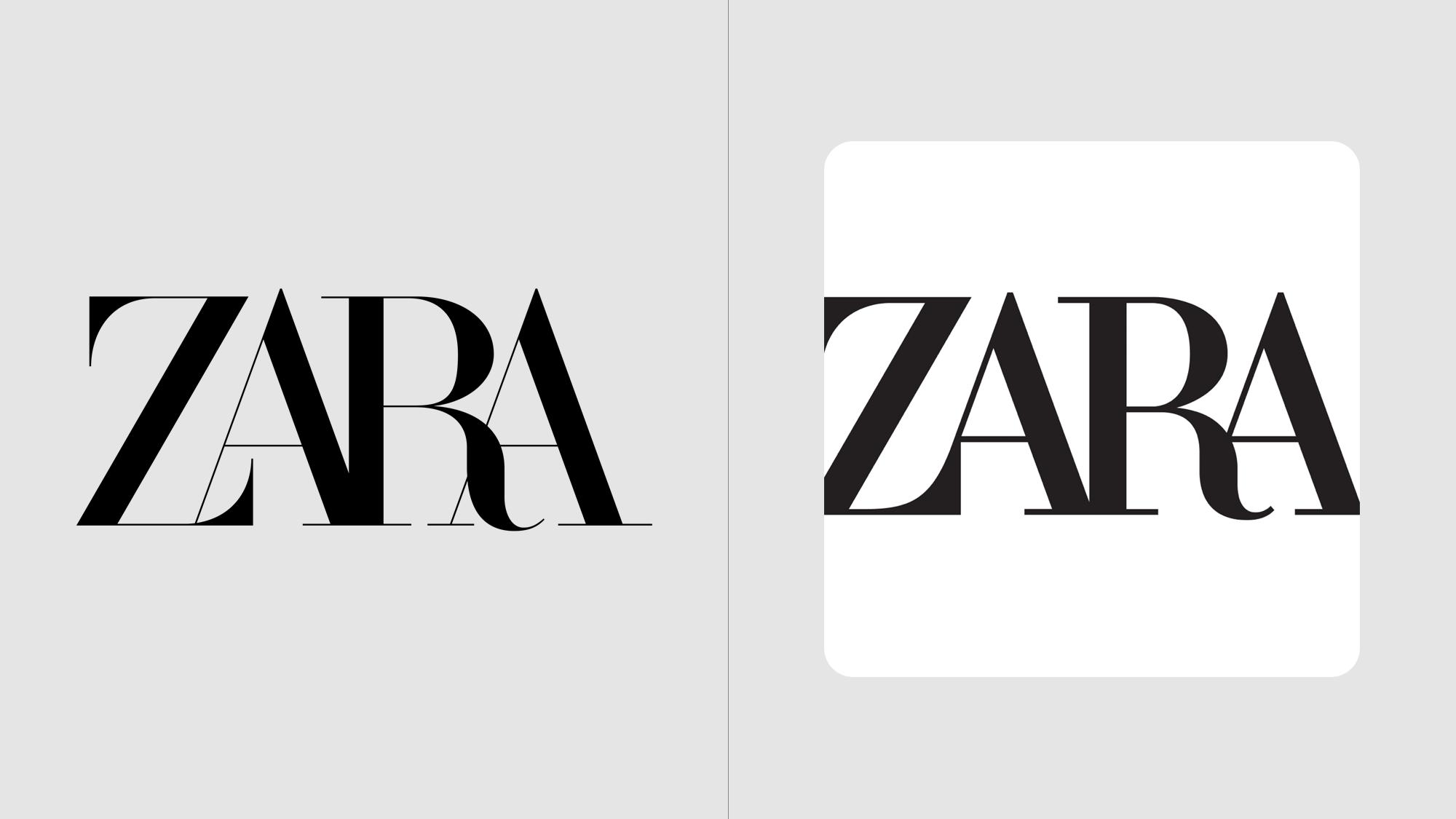 New-er New Zara Logo?