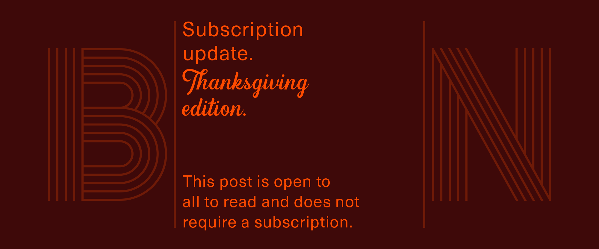 Subscription Model Update