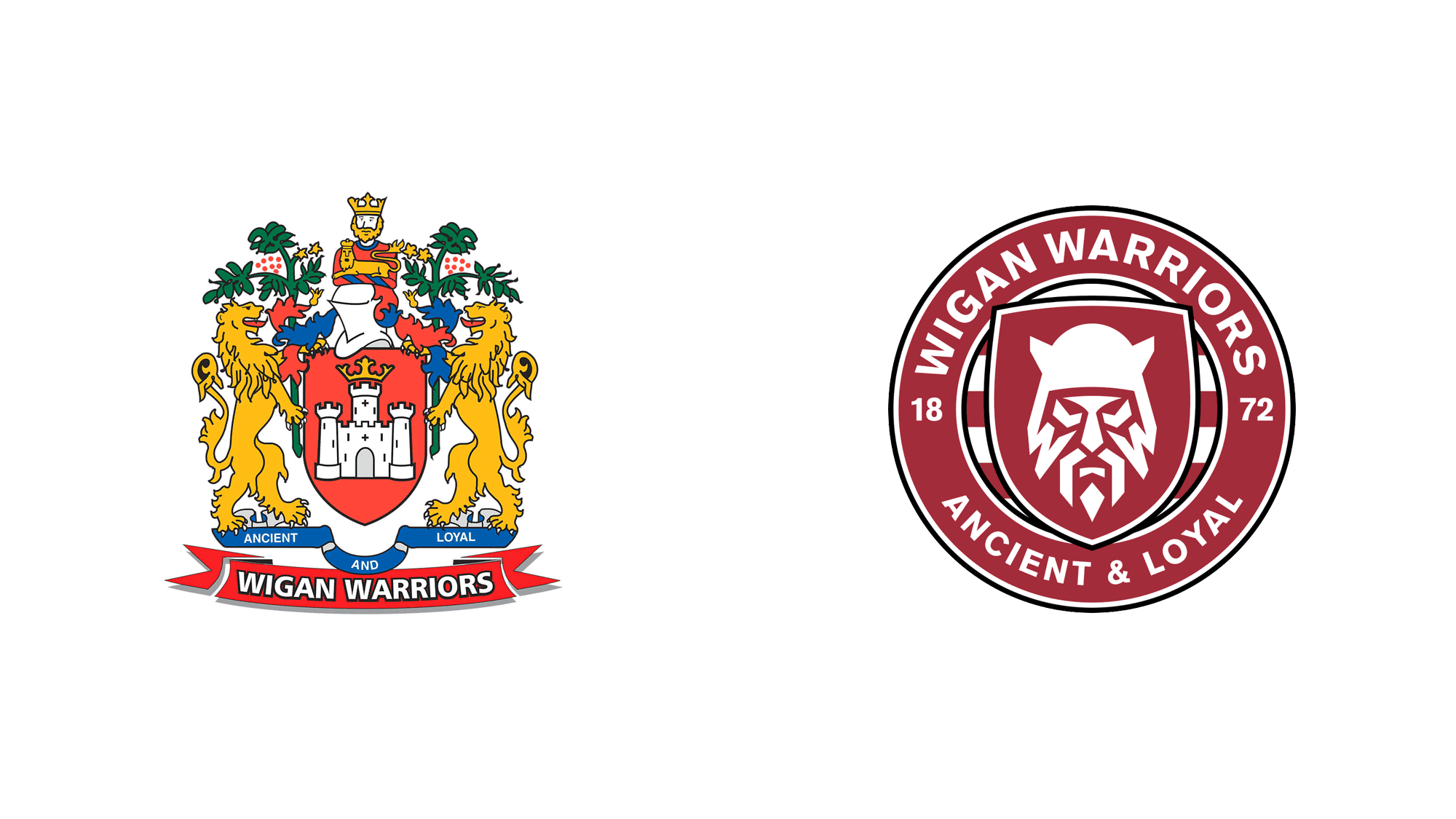 Brand New: New Logo for Wigan Warriors