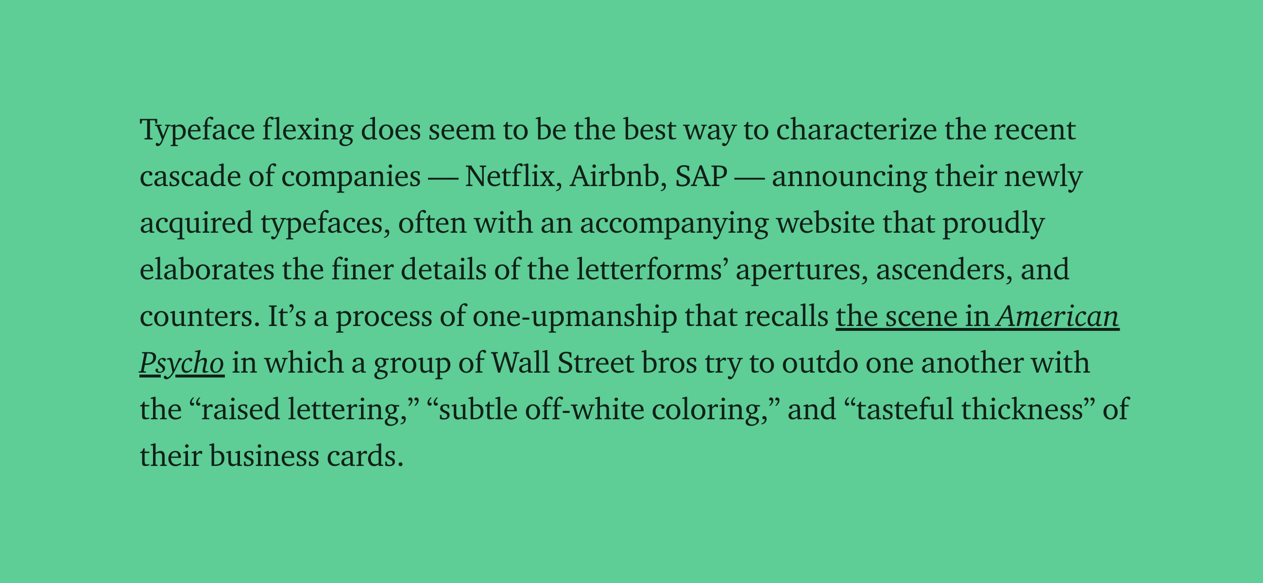 On the Rise of Proprietary Corporate Typefaces