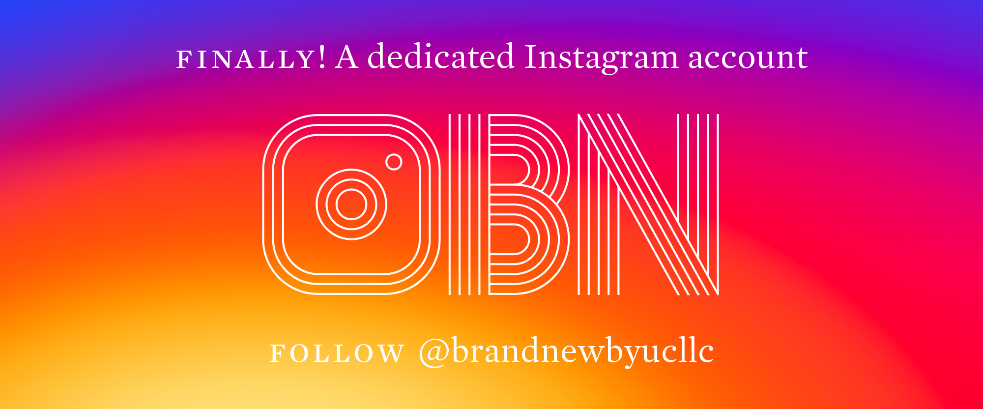 Finally, a Dedicated Instagram Account!