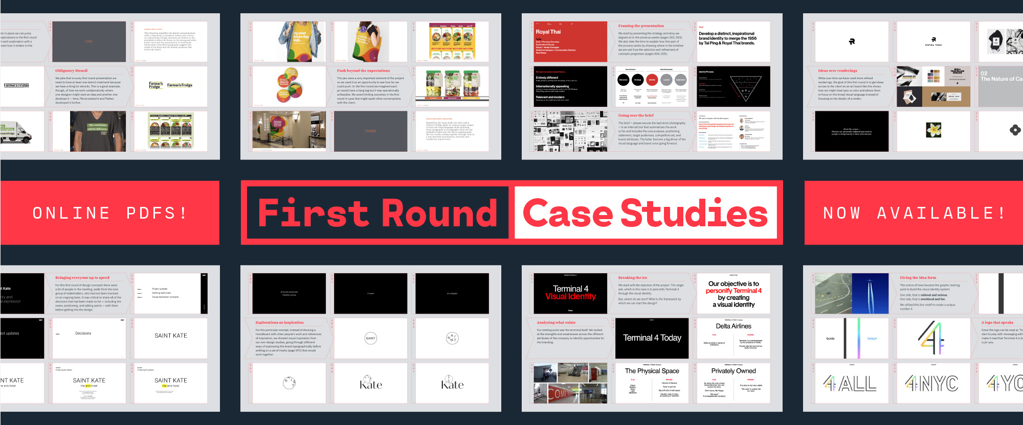 Introducing First Round Case Studies